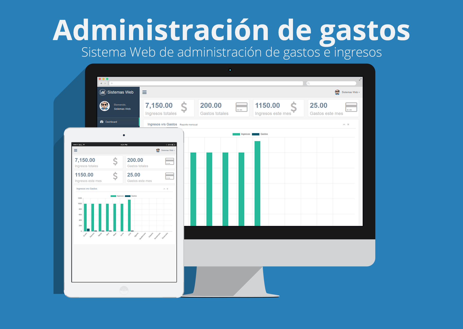 Sistema web de administración de gastos e ingresos