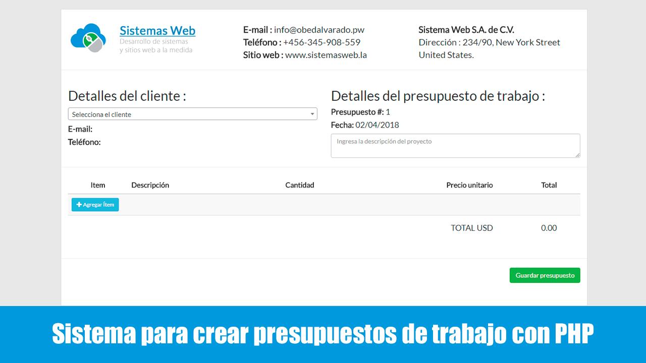 Bootstrap Archivos - Sistemas Web