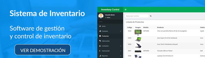 Sistema de control de inventario y facturación