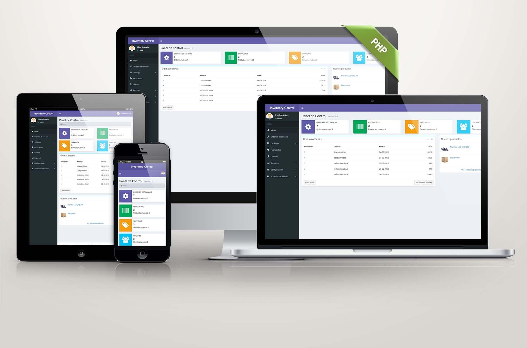 Sistema Web de Ordenes de Trabajo